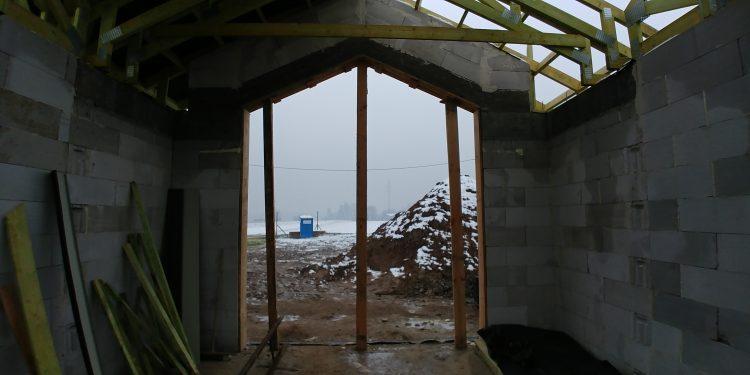 Okno w wykuszu - widok od środka, Niewiesz, Vitra 116, DQM.