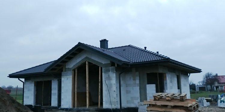 Dach, duża jaskółka Niewiesze.