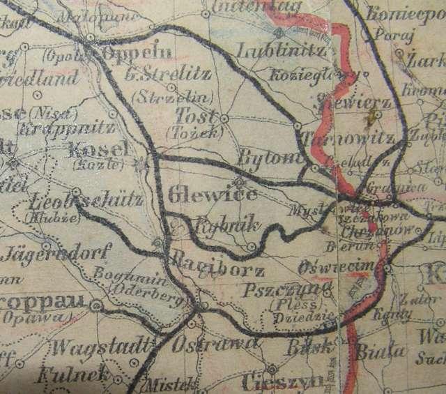 Granica między Niemcami, a Polską