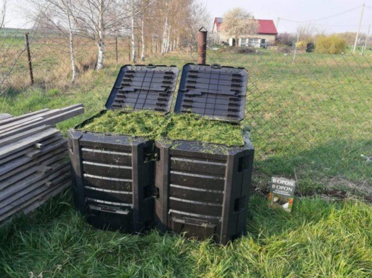 Kompost, trawa, Niewiesze